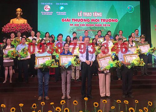 Lễ trao giải môi trường công ty Lộc Phát