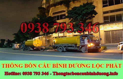 Số điện thoại hút hầm cầu Thủ Dầu Một Bình Dương 093 879 3346