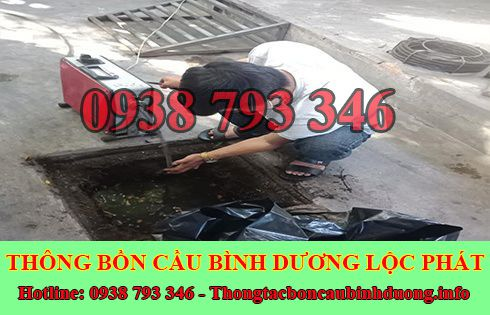 Sửa cống nghẹt Thủ Dầu Một Bình Dương giá rẻ 0938793346