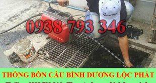 Thông cống nghẹt Bình Dương Lộc Phát 0938793346