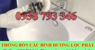 Thông bồn rửa chén bát Bình Dương Lộc Phát 0938793346
