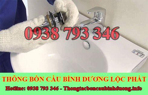 Thông bồn rửa chén bát Bình Dương 0938793346